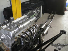 Big bore manifold and system. - click to enlarge
